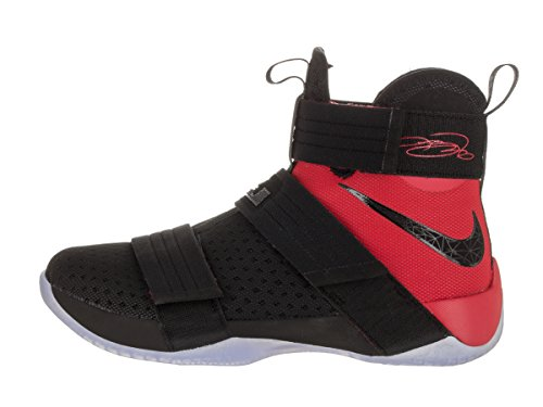 university Soldier Black Basketball 10 Red Shoes Black Lebron Mens NIKE gqAPwP