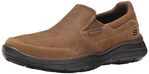 Skechers Glides-Calculous, Zapatillas de Entrenamiento para Hombre Desert