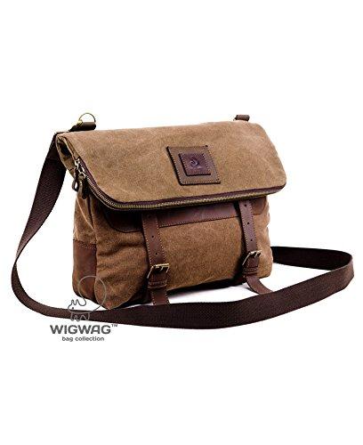 Convertible men's bag, canvas leather men's bag, men's bag, men's canvas leather backpack, shoulder bag, crossbody bag, tablet mens bag
