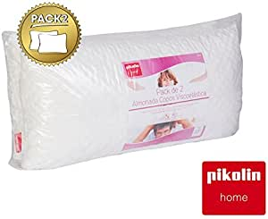 PIKOLIN Pack de Dos Almohadas Copos Viscoelástica Home (Pillow) 70 cm: Amazon.es: Hogar