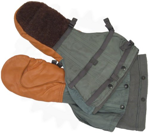 Flyers Mittens w/ Wool Liner, Air Force Issue, Extreme Cold Weather