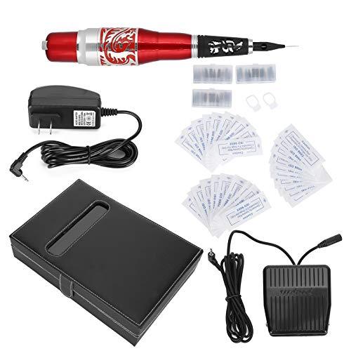 Tattoo Gun, Electric Tattoo Machine, Tattoo Kit Professional Complete for Tattoo Girl Adult Beauty(U.S. regulations)