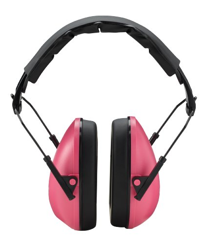 Champion Traps and Targets Slim Passive Ear Muffs, Pink
