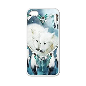 super shining day Cool Back Skin Wolf Dream Catcher for TPU Material Apple iPhone 5C