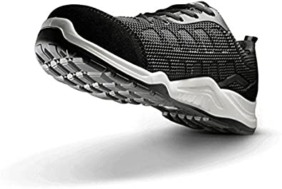 V12 Active Mens Ladies Safety Trainer Shoes Black Breathable Boots