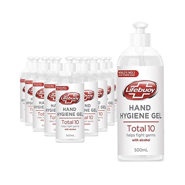 Unilever-Lifebuoy-Desinfektion-Handgel-beseitigt-999-Bakterien-mit-65-Alkohol-12-x-500-ml-Desinfektionsgel
