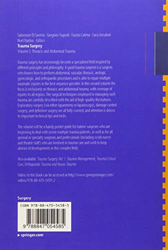 Trauma Surgery: Volume 2: Thoracic and Abdominal Trauma - medicalbooks.filipinodoctors.org