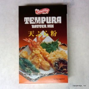 Shirakiku Tempura Batter Mix 10 Oz. Ea. (Pack of 4 Boxes)- by Shirakiku by Shirakiku