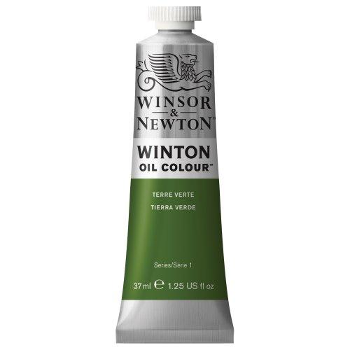 Winsor & Newton Winton Oil Colour Tube, 37ml, Terre Verte