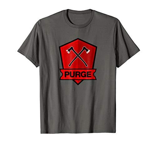 Purge Axe Shield Emblem T-shirt