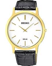 Seiko Men SUP872P Year-Round Analog Solar Powered Black Watch