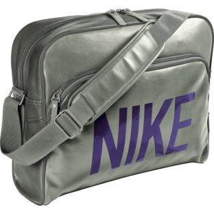 b5abc26055 Nike Heritage Track Messenger Bag - Silver