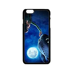 Moon night fish and boy Cell Phone Case for Iphone 6 by lolosakes