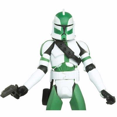 Star Wars 2010 Clone Wars Animated Action Figure CW No. 21 Commander Gree by Hasbro (Can Gree compare prices)