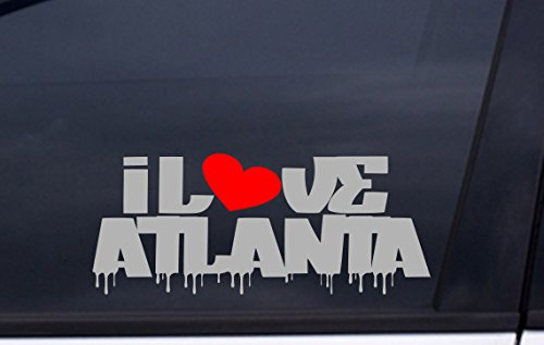 Stadium Atlanta Fulton (I LOVE ATLANTA vinyl decal 3