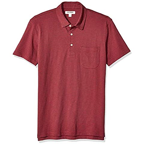 - 41ri6iyzOGL - Amazon Brand – Goodthreads Men's Lightweight Slub Polo