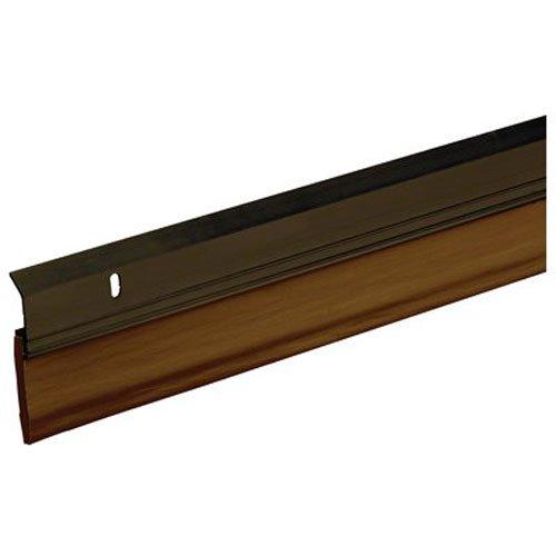 Frost King A82/36BR Extra Wide Heavy Duty Alum/Vinyl Door Sweep, 2-3/8In Wide x 36In Long, Bronze