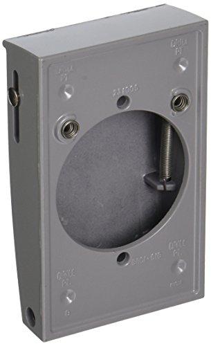 hubbell bell 5030 0 1 gang weatherproof vertical 30 50 amp receptacle device cover gray enjoy. Black Bedroom Furniture Sets. Home Design Ideas