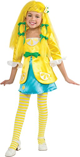 Rubies Strawberry Shortcake and Friends Deluxe Lemon Meringue Costume, Small (Costume Meringue Lemon)