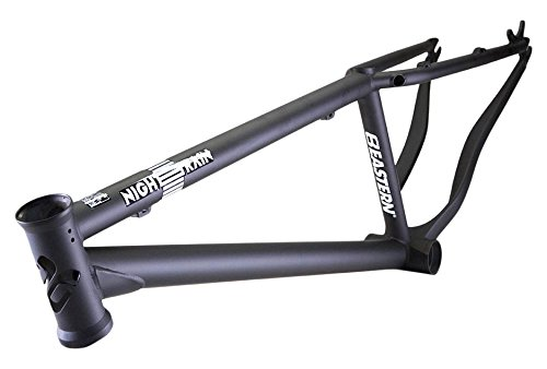 "Eastern Bikes Dirt Jump Eastern Night train Frame, Black, 13""/Small"