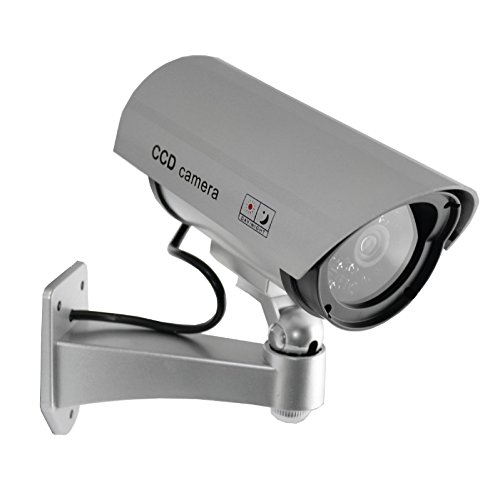 Streetwise Security Products IR Dummy Camera, 5-Inch, Silver