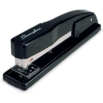 Swingline Stapler, Commercial Desk Stapler, 20 Sheets Capacity, Black (S7044401)