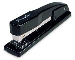 Swingline Desk Stapler, Commercial, 20 Sheets Capacity, Black (S7044401)