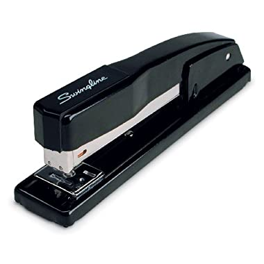 Swingline Commercial Desk Stapler, 20 Sheet Capacity, Black (44401)