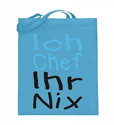 Shirtee 9OD6EB4I_XT003_38cm_42cm_5739 - Bolso de tela de algodón para mujer Azul azul 38cm-42cm Azul Claro