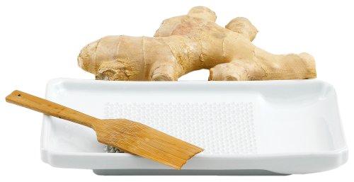 Helen Chen's Asian Kitchen Porcelain Ginger Grater (Asian Kitchen Porcelain)