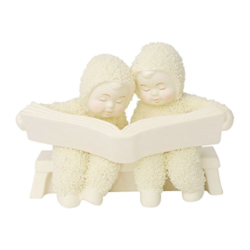 Department 56 Snowbabies The Good Book Porcelain Figurine, 3.75