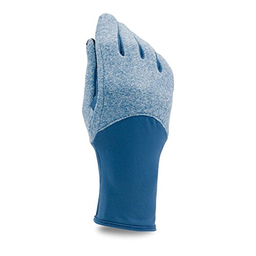 Under Armour Women's ColdGear Infrared Fleece Gloves, Heron/Heron, Small