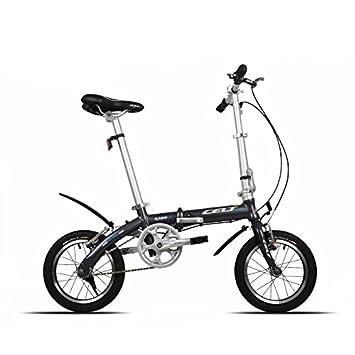 Bazaar 14 pulgadas de doble v freno de bicicleta plegable bicicleta de peso ligero marco de