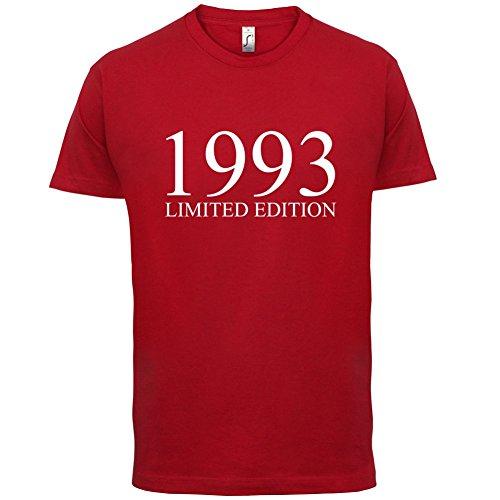 1993 Limierte Auflage / Limited Edition - 24. Geburtstag - Herren T-Shirt - Rot - L