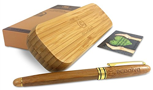 premium-handcrafted-bamboo-fountain-pen-set-by-ecoalva-great-for-signatures-calligraphy-handcrafted-