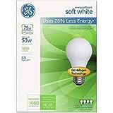 GE 66248 Energy-Efficient Soft White 53 Watt
