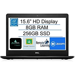 2021 Newest Dell Inspiron 15 Business Laptop Computer: 15.6″ HD Non-Touch Display, Intel 4205U 1.8GHz Processor, 8GB RAM, 256GB SSD,WiFi, Bluetooth, HDMI, Webcam, Windows 10 in S Mode, AllyFlexMP