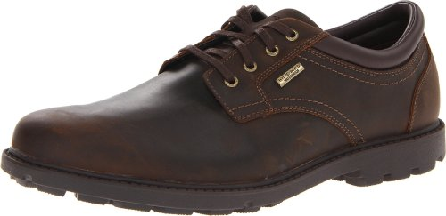 Rockport Heren Ruige Bucks Plain Teen Waterdicht Oxford Schoen Tan