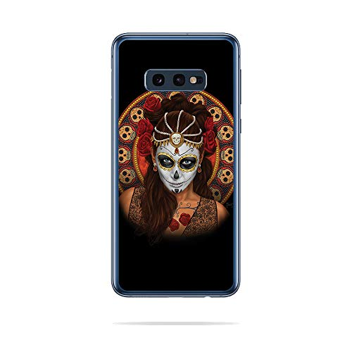 MightySkins Skin Compatible with Samsung Galaxy S10E - Dia De Muertos | Protective, Durable, and Unique Vinyl Decal wrap Cover | Easy to Apply, Remove, and Change Styles | Made in The USA]()