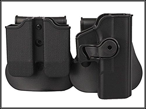 main droite pistolet holster pour GLOCK 17/22/31 et pochette magazine Military Outdoor