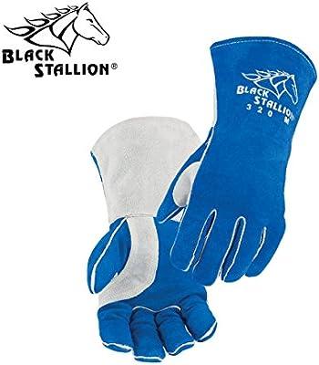Revco Black Stallion MIG Welding Glove BM88 Premium Pigskin /& Cowhide Large