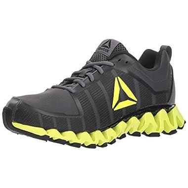 Reebok Men s ZigWild Tr 5.0 Running Shoe ash Grey Black Electric Fabric 11 M 82dd5ccf8