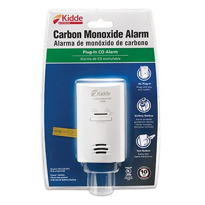 Amazon.com: kidde Carbon Monoxide Alarm - 120 V AC - Audible - White: Home Audio & Theater
