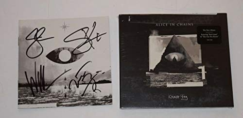 Alice in Chains Signed Autograph Rainier Fog CD Booklet +New CD Cantrell + 3 COA