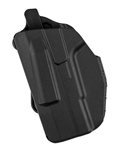 Safariland 7371 Micro 7TS ALS, Glock 42 or 43, Micro-Paddle, Plain Black, Left Hand (Left Hand Paddle Holster)