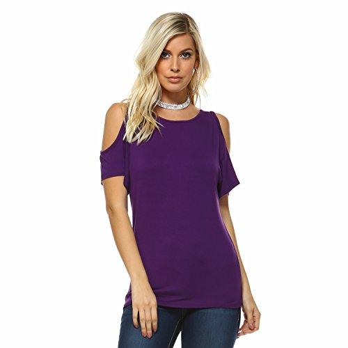 Assorted Womens Short Sleeve Shirts - Iaasc Liev Womens Cutout Cold