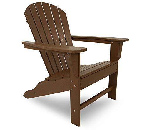 - Patio Outdoor Garden Premium Poly-Wood South Beach Chair, Teak
