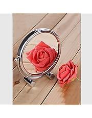 Desktop mirror Makeup mirror Enlarged make-up mirror 10 times magnification make-up mirror Double-sided make-up mirror Beauty mirror One high-definition mirror One side 10x magnification make-up mirror