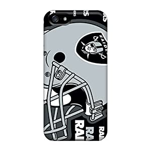 Iphone 5/5s Cases Covers Skin : Premium High Quality Oakland Raiders Cases