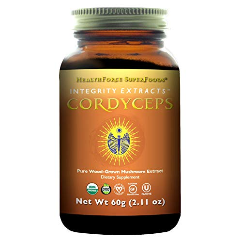 HealthForce SuperFoods Integrity Extracts Cordyceps 60g Powder